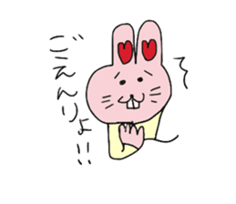 momoiro rabbit sticker #357352