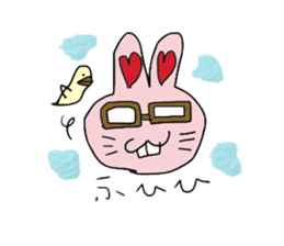 momoiro rabbit sticker #357353