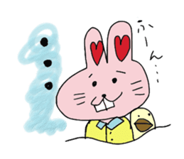 momoiro rabbit sticker #357355