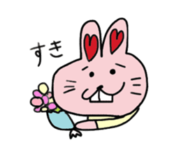 momoiro rabbit sticker #357363