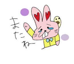 momoiro rabbit sticker #357374
