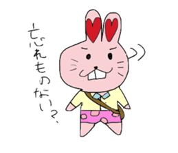 momoiro rabbit sticker #357384