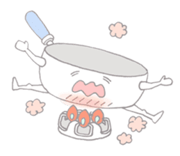 dishes and their friends sticker #357517