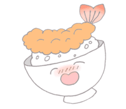dishes and their friends sticker #357519
