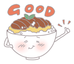 dishes and their friends sticker #357530
