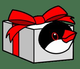 Love Bird Java sparrow sticker #357547