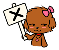 Alice The Teddy Poodle sticker #359196