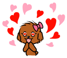 Alice The Teddy Poodle sticker #359201