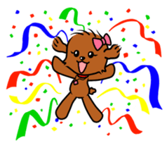 Alice The Teddy Poodle sticker #359209