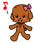 Alice The Teddy Poodle sticker #359217