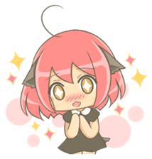 Lovely Mizuki's stickers sticker #359228