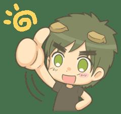 Lovely Mizuki's stickers sticker #359229