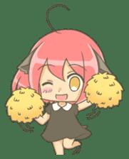 Lovely Mizuki's stickers sticker #359251