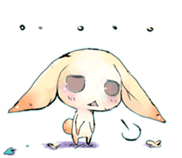 hares~HASE~ sticker #359430