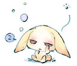 hares~HASE~ sticker #359454