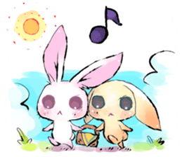 hares~HASE~ sticker #359460