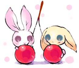 hares~HASE~ sticker #359461