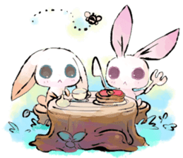 hares~HASE~ sticker #359462