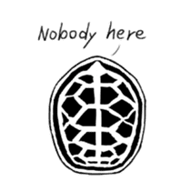 Tortoise life sticker #360080