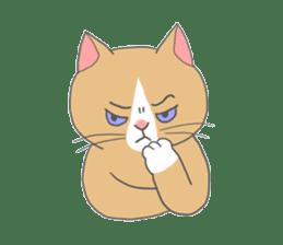 Cat-like sticker #360117