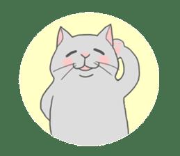 Cat-like sticker #360118
