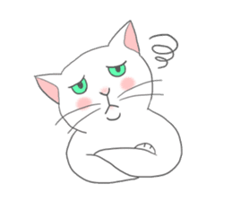 Cat-like sticker #360123
