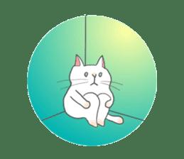 Cat-like sticker #360126