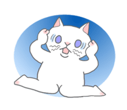 Cat-like sticker #360131