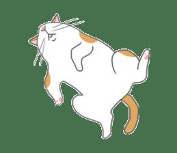 Cat-like sticker #360142