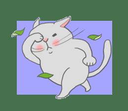 Cat-like sticker #360143