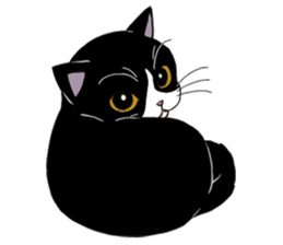 Panda-cat Mink(English version) sticker #360386