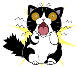 Panda-cat Mink(English version) sticker #360399