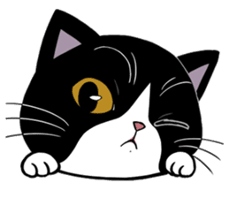 Panda-cat Mink(English version) sticker #360406