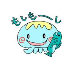 Kurage no Ku-chan sticker #360547