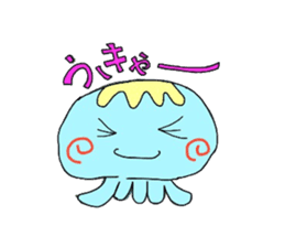 Kurage no Ku-chan sticker #360561