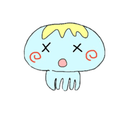 Kurage no Ku-chan sticker #360568