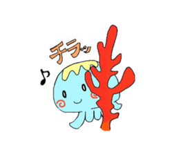 Kurage no Ku-chan sticker #360570