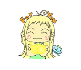 Kurage no Ku-chan sticker #360584