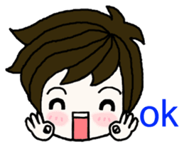 Present girl's life diary sticker #360589