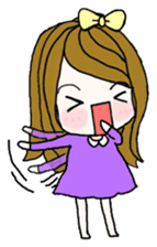 Present girl's life diary sticker #360594
