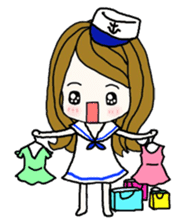 Present girl's life diary sticker #360603