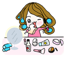 Present girl's life diary sticker #360606