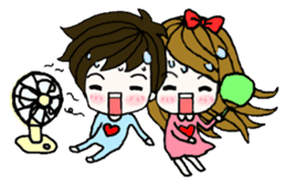 Present girl's life diary sticker #360607