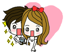 Present girl's life diary sticker #360613