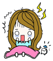 Present girl's life diary sticker #360617