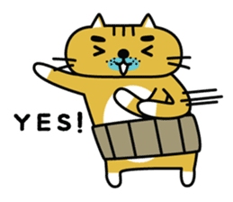 OSSAN NEKO2 sticker #361065