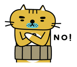OSSAN NEKO2 sticker #361066