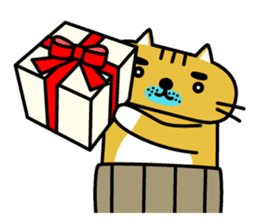 OSSAN NEKO2 sticker #361073