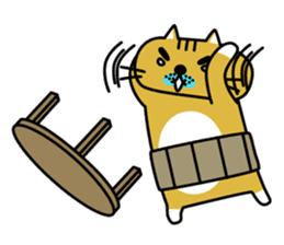OSSAN NEKO2 sticker #361087