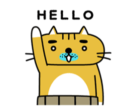 OSSAN NEKO2 sticker #361092